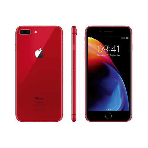 apple iphone 8 plus 256gb rot ohne simlock sofort. Black Bedroom Furniture Sets. Home Design Ideas