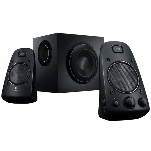 logitech z623 2 1 stereo lautsprecher thx mit subwoofer. Black Bedroom Furniture Sets. Home Design Ideas